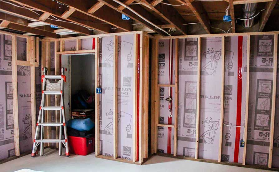 Basement insulation provides superior comfort, reduced utility expenses, moisture protection, and heat preservation.