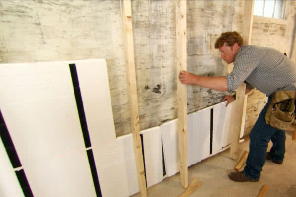 Basement insulation needs to be taken as a set of complex measures to ensure the best results.