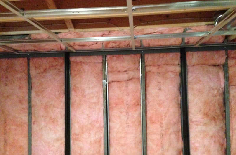 While spray foam basement insulation is one of the best methods, fiberglass insulation stays the most popular and traditional insulation method.